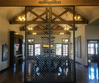 metal divider for puget sound partners built by daniel harmon custom fabrication