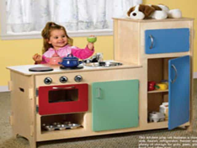 Build a Kids Play Kitchen