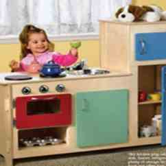 Kitchen Kid Table With High Chairs Build A Kids Play