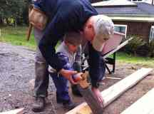 Teach Your Child to Use a Hand Saw Safely