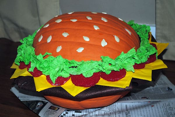 hamburger-pumpkin