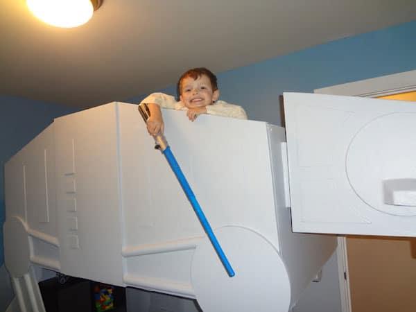 Build A Star Wars Imperial Walker Bed