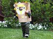 7 Fun Paper Bag Masks For Thanksgiving