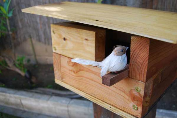 How to Build a Modern Birdhouse