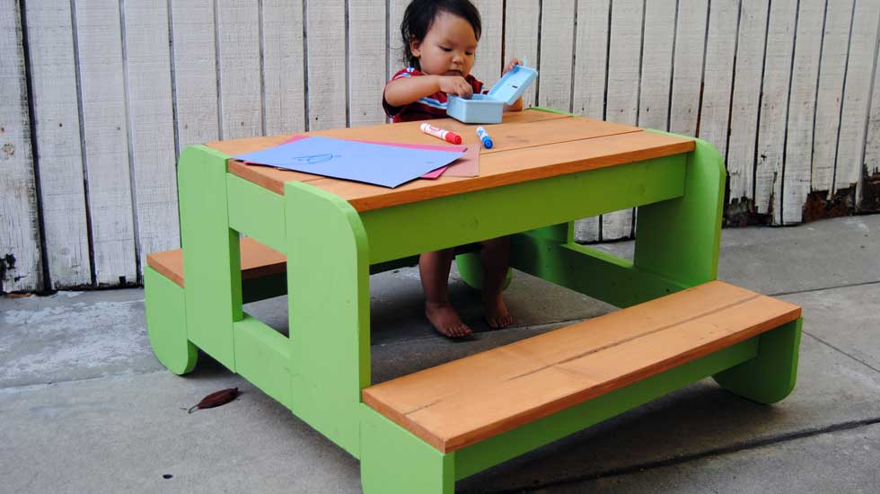 children s table and chairs wooden prima pappa high chair cover how to build a kids picnic