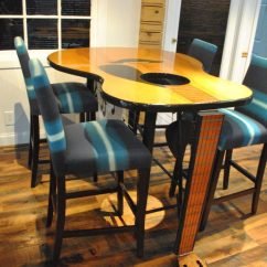 Guitar Shaped Chair Swivel Olx Custom Tables Gallery Built By Martin Clients