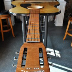 Guitar Shaped Chair Drop Side Table And Chairs Custom Tables Gallery Built By Martin