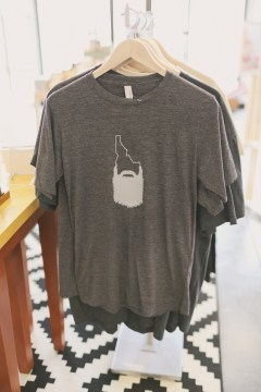 Paperie + Pen carries Wear Boise t-shirts