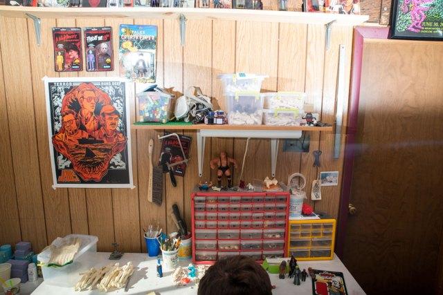 Credenda Studios desk