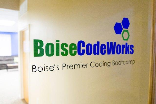 BoiseCodeWorks office sign