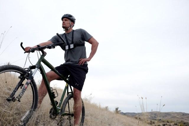Action Mount creator August Johnson on bike