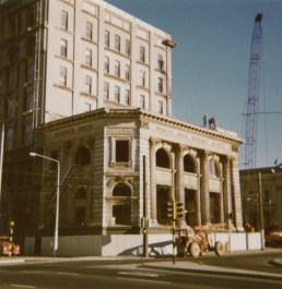 Norwich Union Building (former Bank of Australasia), demolished 1973. Alan Pritchard photo.