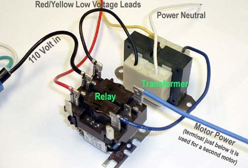 direct wire transformer wiring diagram
