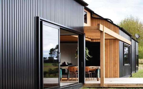 Built Prefab Modular Homes Siding Photo