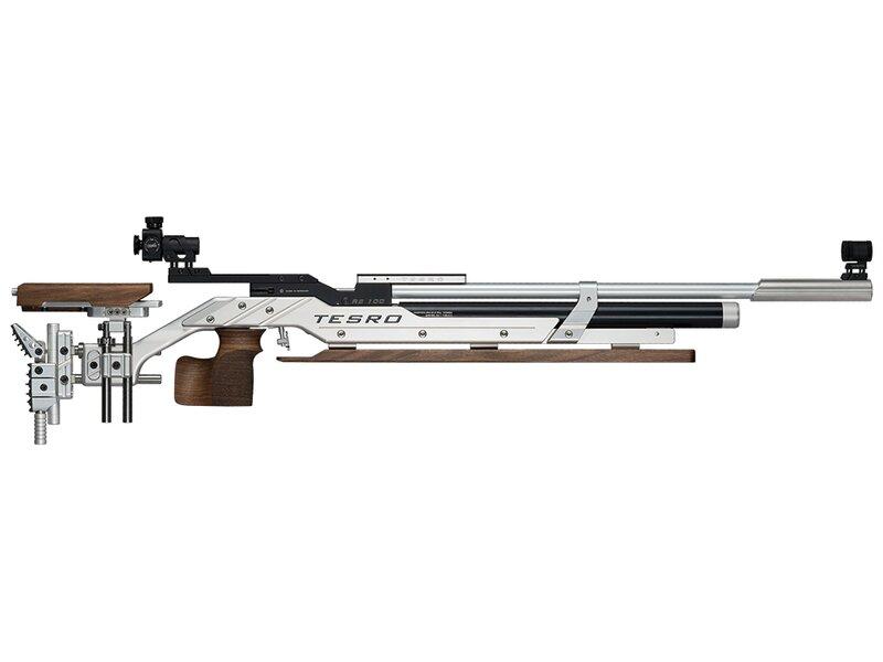 Tesro Match air rifle RS100 Signum bench rest