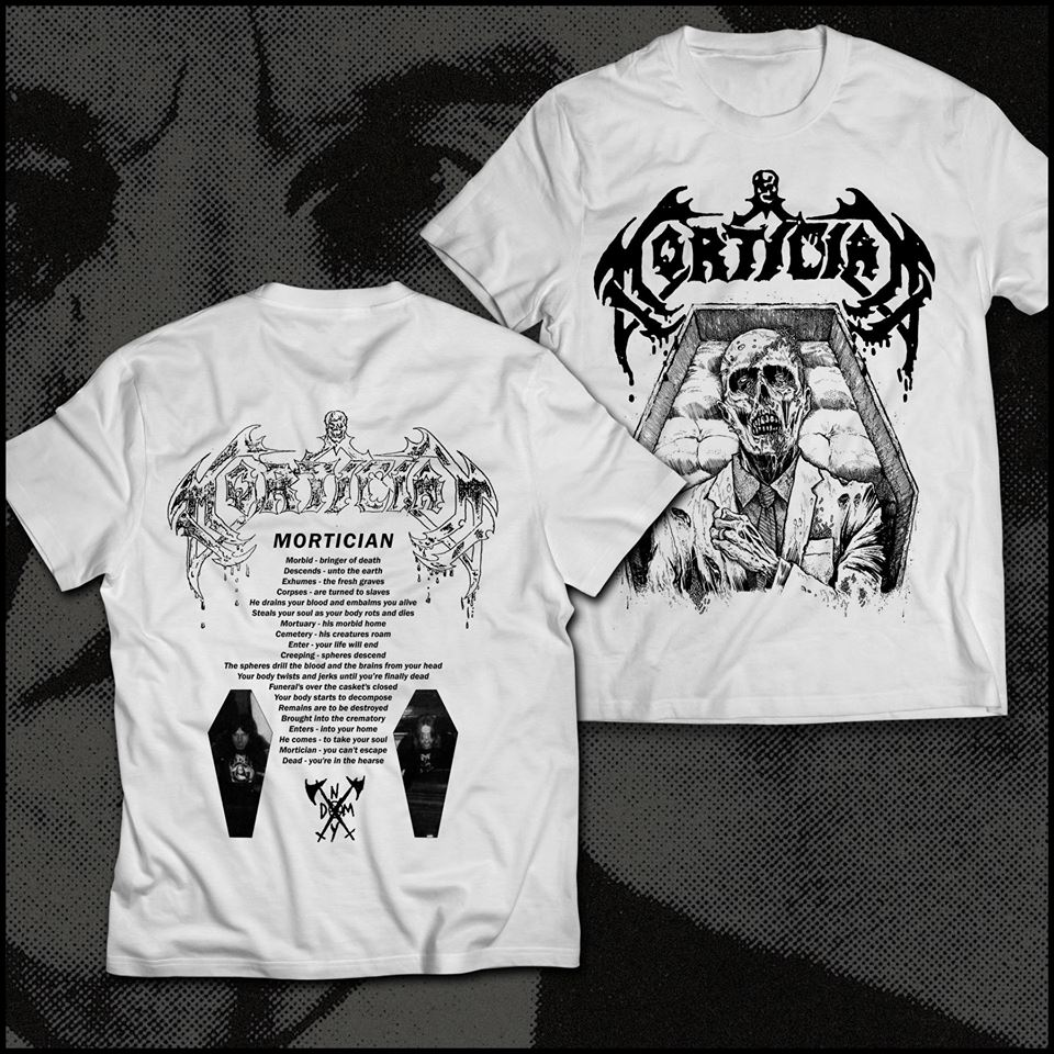 Mortician T Shirts Almost Here