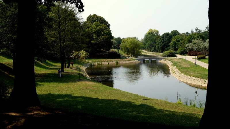 Park Helenów w Łodzi