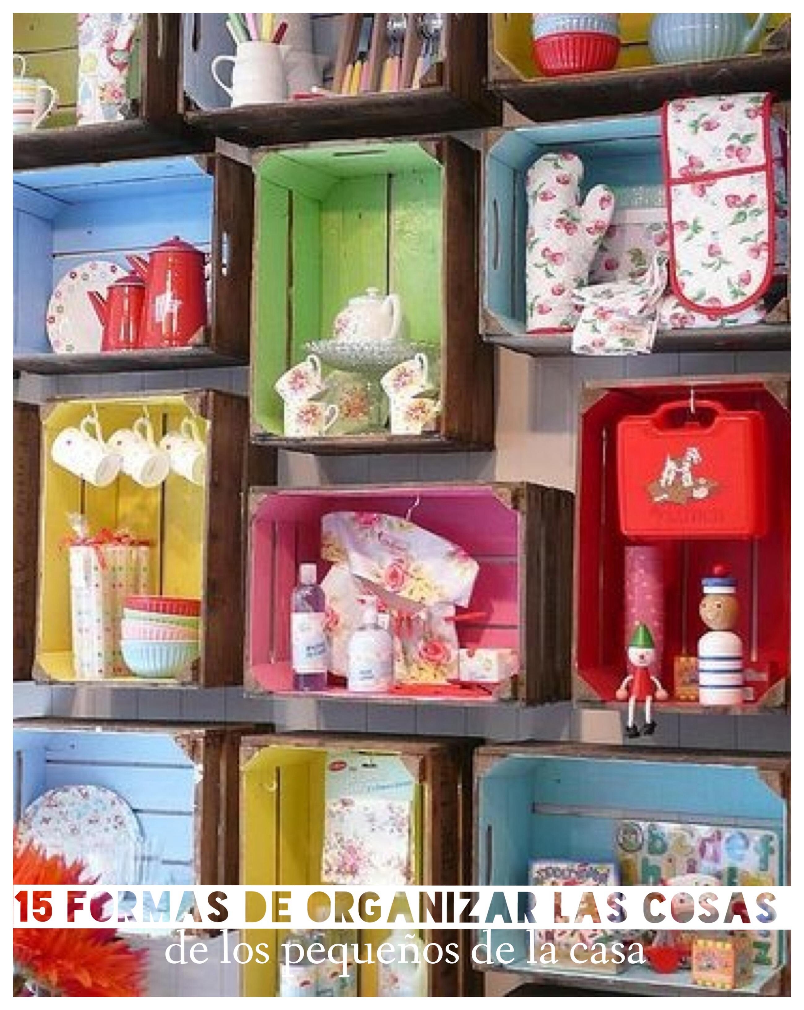 15 Ideas Para Organizar Las Cosas De Los Ni Os # Pequenos Gigantes Muebles