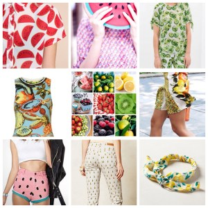 Tendencias: Estampados frutales!