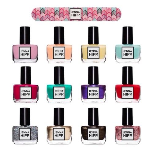 esmaltes de uñas de Jenna Hipp