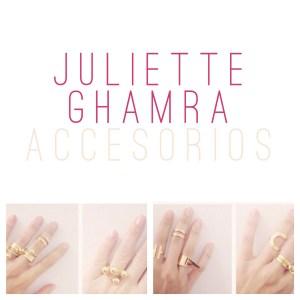 Juliette Ghamra: Accesorios