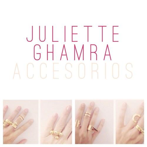 Juliette Ghamra accesorios
