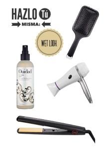 Hazlo Tú Misma: Wet Look o Efecto Mojado en el cabello