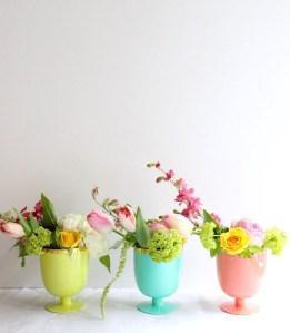 En imágenes: 10 Formas de presentar las Flores en Casa