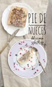 Para Celebrar: Pie de Nueces Delicioso