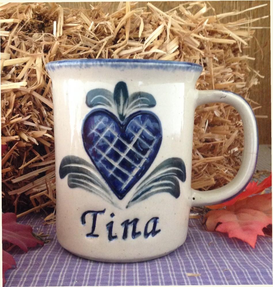 stoneware mug personalized