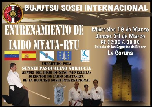 Entrenamiento Iaido Marzo 2014 La Coruña