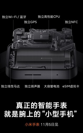 Teasers about the Mi Watch and Mi TV 5