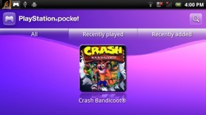PSX game emulation on the Xperia Play