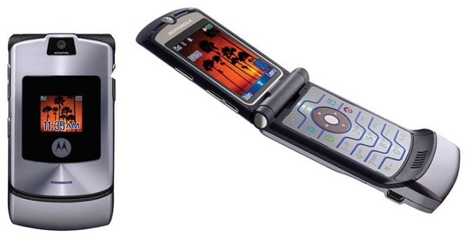 Flashback: Motorola RAZR V3