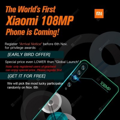 The Xiaomi Mi CC9 Pro will launch on GearBest first