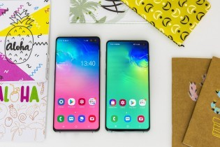 Samsung Galaxy S10e, Galaxy S10+ and Galaxy S10