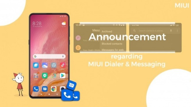 Xiaomi will pre-install Google's Phone and Messages apps on global devices