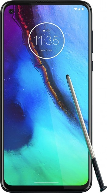 Unknown Motorola smartphone render surfaces, it comes with a stylus