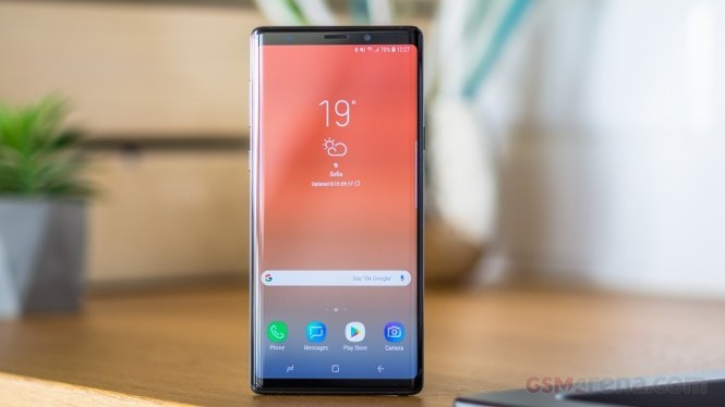Samsung releases Galaxy Note9 Android 10 update for non-beta users