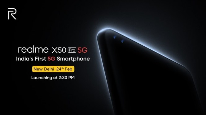 Realme steals iQOO's thunder, will launch the X50 Pro 5G in India on February 24