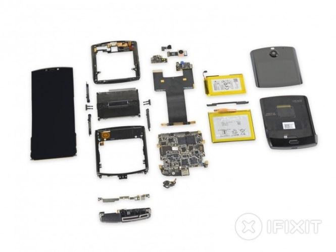 Motorola Razr teardown finds it practically impossible to repair