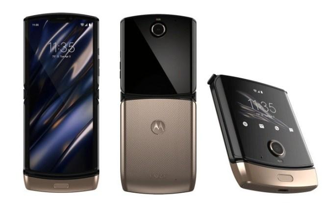 Motorola Razr 2019 Blush Gold variant is coming this spring