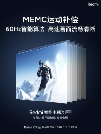 Redmi X TV teasers