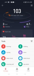 Amazfit's Android app needs a design overhaul