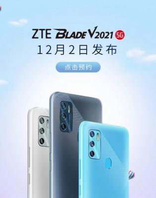 ZTE Blade V2021 5G promo images