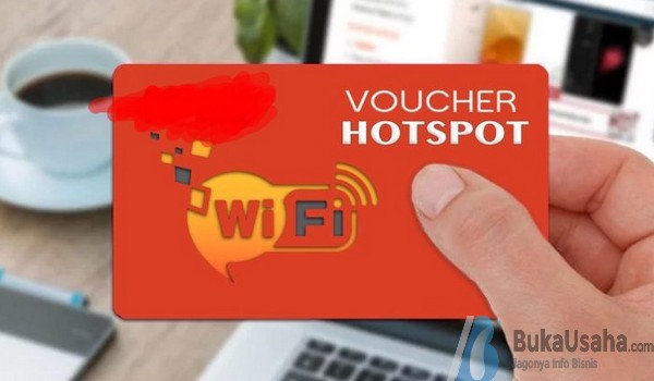 Jualan WiFi Sistem Voucher