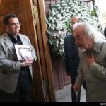 دکتر محمد ملکی ( اولین رئیس دانشگاه تهران بعد از انقلاب به همراه علی دهباشی عکس از امیر پورمند ـ ایسنا