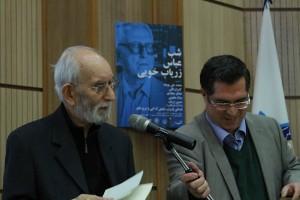 علی دهباشی و دکتر موحد ـ عکس از مجتبی سالک