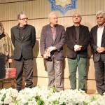هارون یشایایی، پرویز پرستویی، داریوش مهرجویی و پری صابری ـ عکس از ژاله ستار ایرج راد،