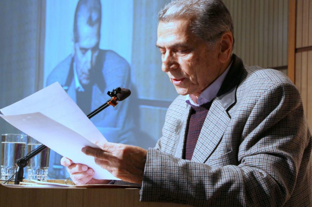 دکتر محمدتقی راشد محصل از آشنایی خود با استاد ابوالقاسمی سخن گفت